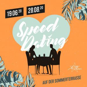 Speed-Dating auf der Sommerterrasse Cafe Moskau Chemnitz - Restaurant, Bar & Lounge Cafe Moskau