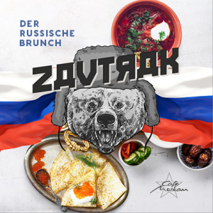 Zavtrak - Der russische Brunch Cafe Moskau Chemnitz - Restaurant, Bar & Lounge Cafe Moskau